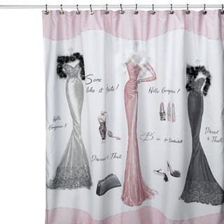 The Cheap Diva: Shower Curtains go Glam