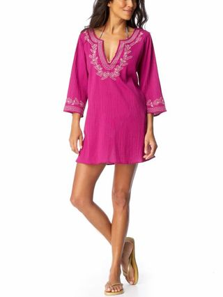 Old Navy Metallic Gauze Swim Cover Up