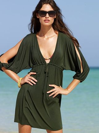 Split Sleeve Cover Up Tunic