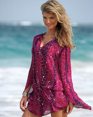 Georgette Cover Up