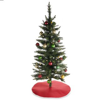 pre lit christmas tree - Bed Bath And Beyond Christmas Decorations