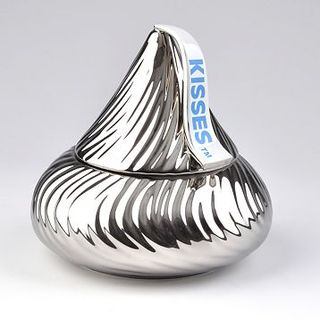 Hershey's Chocolate Kiss Cookie Jar