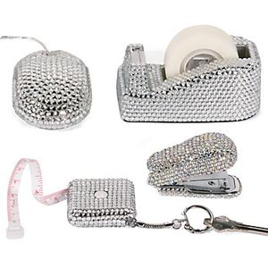 Crystal Desk Accessories