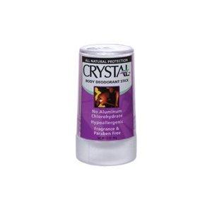 Crystal body deordorant