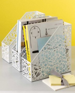 Vinea Magazine File Holder