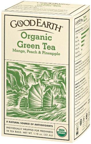 Good Earth Organic Green Tea