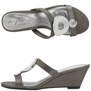 Rosie Embellished Wedge Slide