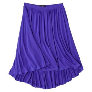 Hi-Low Knit Skirt