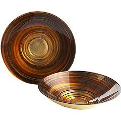 Sable Serving Pieces