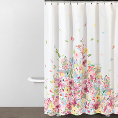 Watercolor Bouquet Shower Curtain