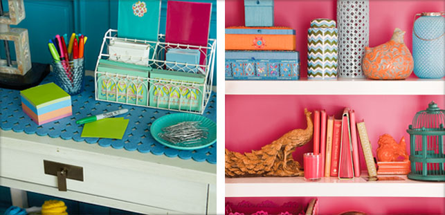 colorful office accessories. Exellent Office Affordable Inspiration From Home Goods For Colorful Office Accessories