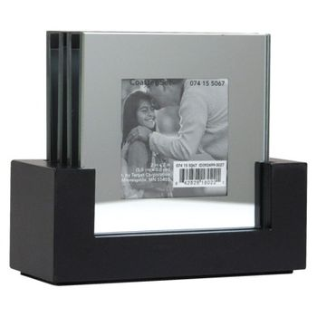 Threshold Beveled Mirror Photo Coasters