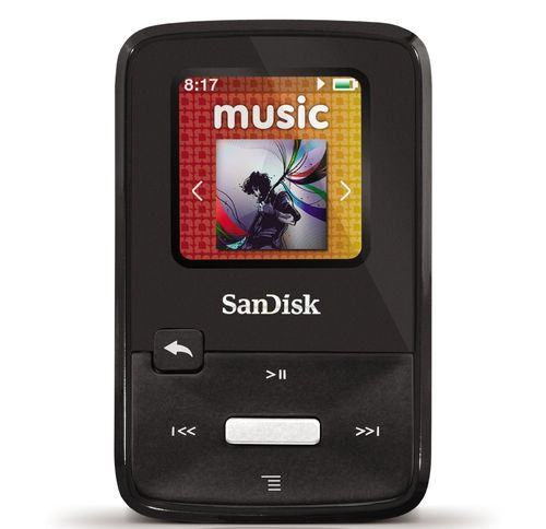 SanDisk Sansa Clip Zip 8 GB MP3 Player (Black)