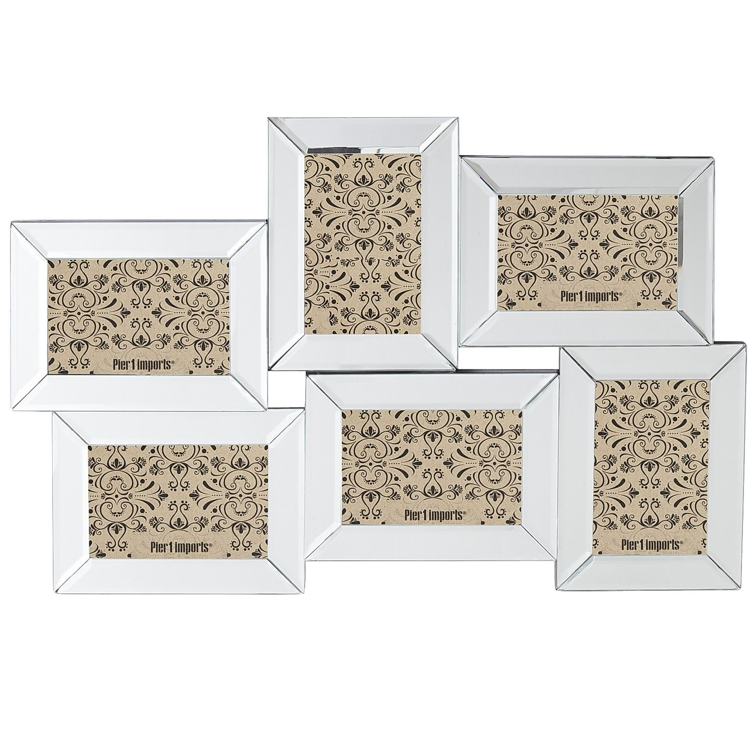 The Cheap Diva: Cut Clutter with Picture Frames from Pier 1 Imports