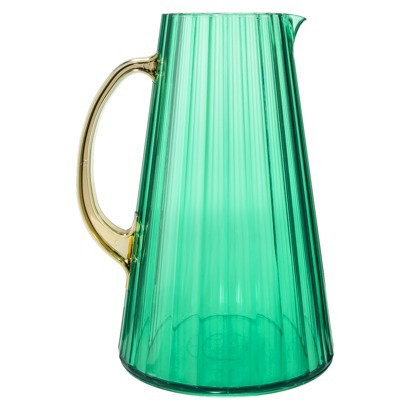 Oh joy pitcher-aqua