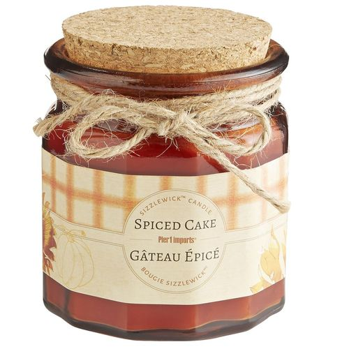 Spiced Cake Sizzlewick Candle