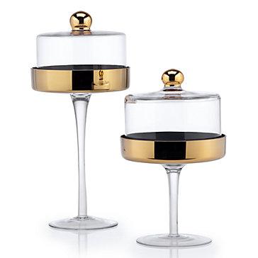 Pedestal cake-stands