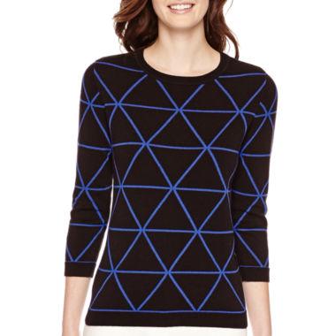 Triangle Graphic Sweater