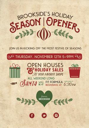 Brookside Holiday Season Opener