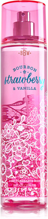 Bourbon Strawberry and Vanilla fragrance mist