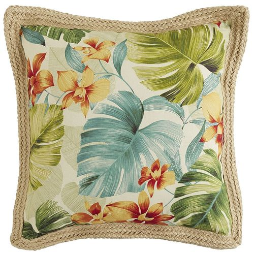 Cambree Bay Jute Trim Pillow