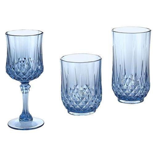 Gaze Acrylic Drinkware - Blue