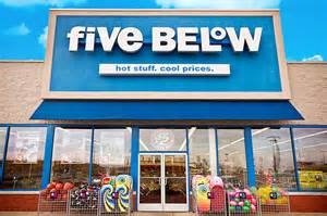 Five Below Dollar Store