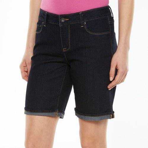 SONOMA life + style Cuffed Bermuda Jean Shorts - Women's