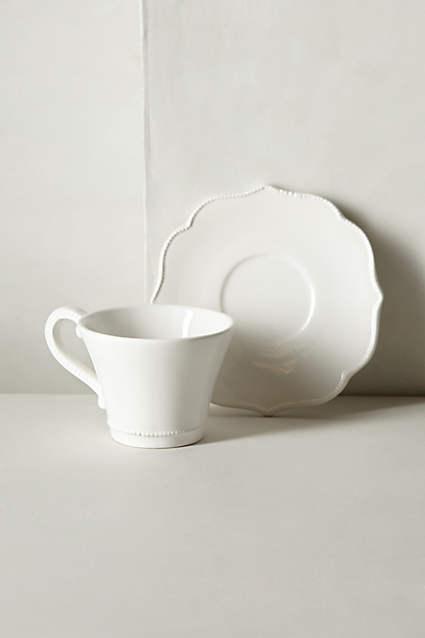 Lotus Cup & Saucer