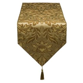 $17.99 table damask runners Gold Table in  Damask cheap Runner