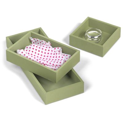 acrylic drawer organizer set 1