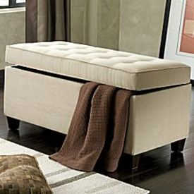 Captivating Benches Provide Stylish Storage Solutions.  Jc_penny_elsa_storage_bed_bench_1_2